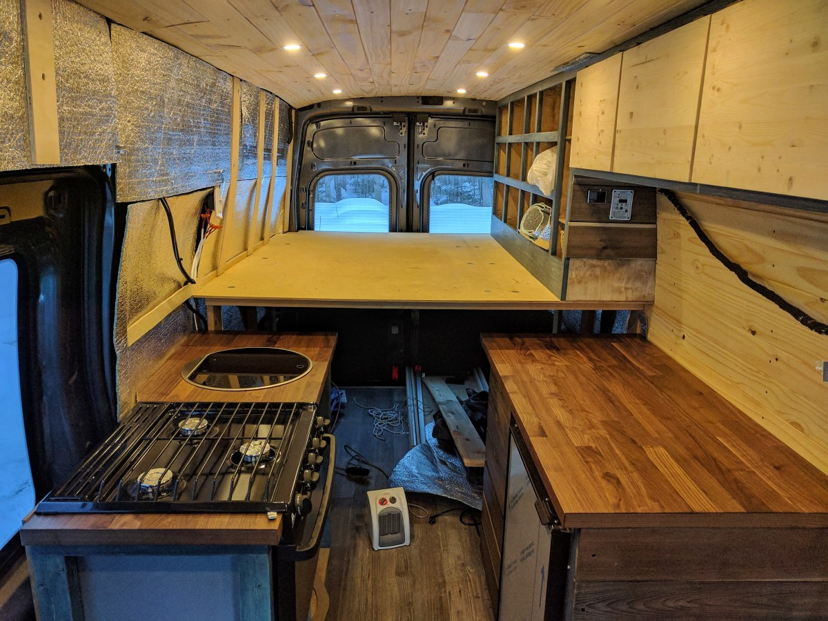 Van Conversion Halfway Through (20-)