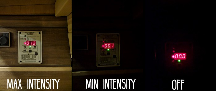 LED-Intensity