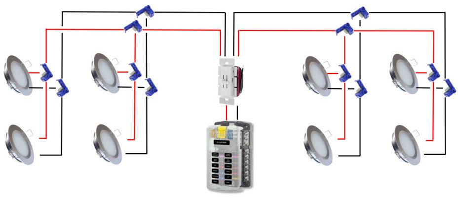 Van LED lights Wiring