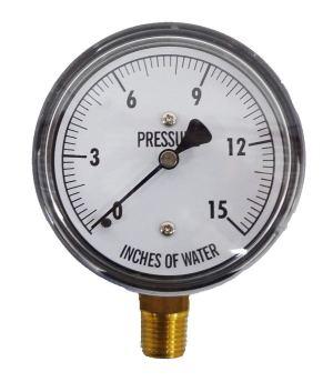 Low Pressure Inline Propane Gauge