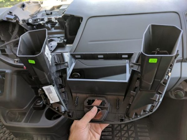 Ford Transit Radio Upgrade DDIN Joying Android (10)