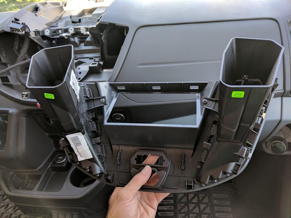 Radio Upgrade Faroutride Ford Van Stereo Wiring Harness Transit Ddin Joying Android 10