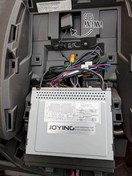 Ford-Transit-Radio-Upgrade-DDIN-Joying-Android-(23)