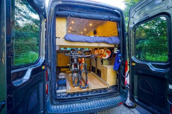 Mosquito Screens Ford Transit Van (2)