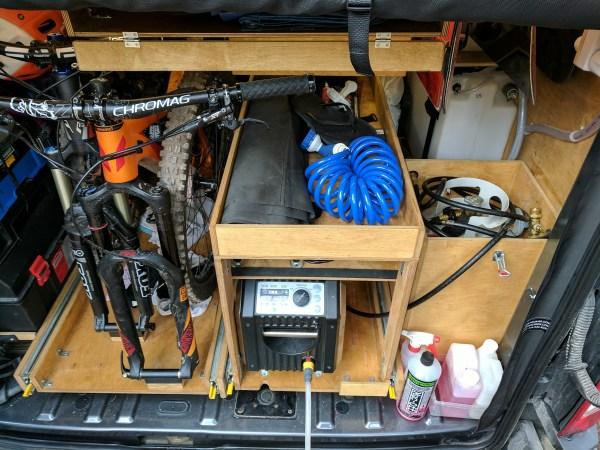 Exterior Shower Campervan Conversion (10)