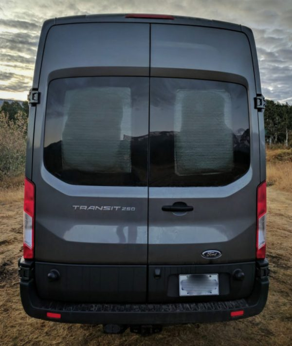 Insulated Window Covers For Camper Van Conversion Faroutride