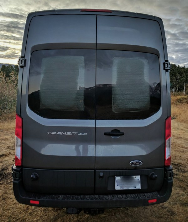 Ford Transit Insulated Window Covers (1)