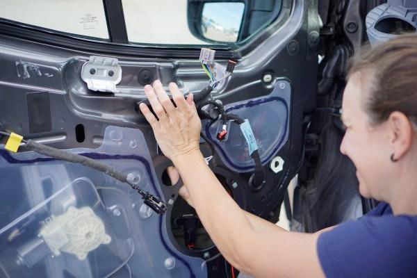 Ford Transit Speakers Upgrade-0450