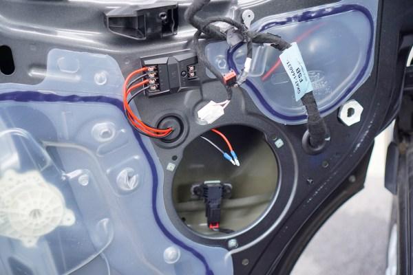 Ford Transit Speakers Upgrade-0455