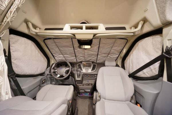 Ford Transit Insulated Window Covers Interior (2)