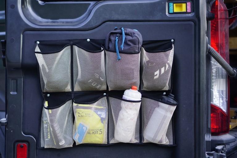Shoe Organizer Rear Doors Van (1)