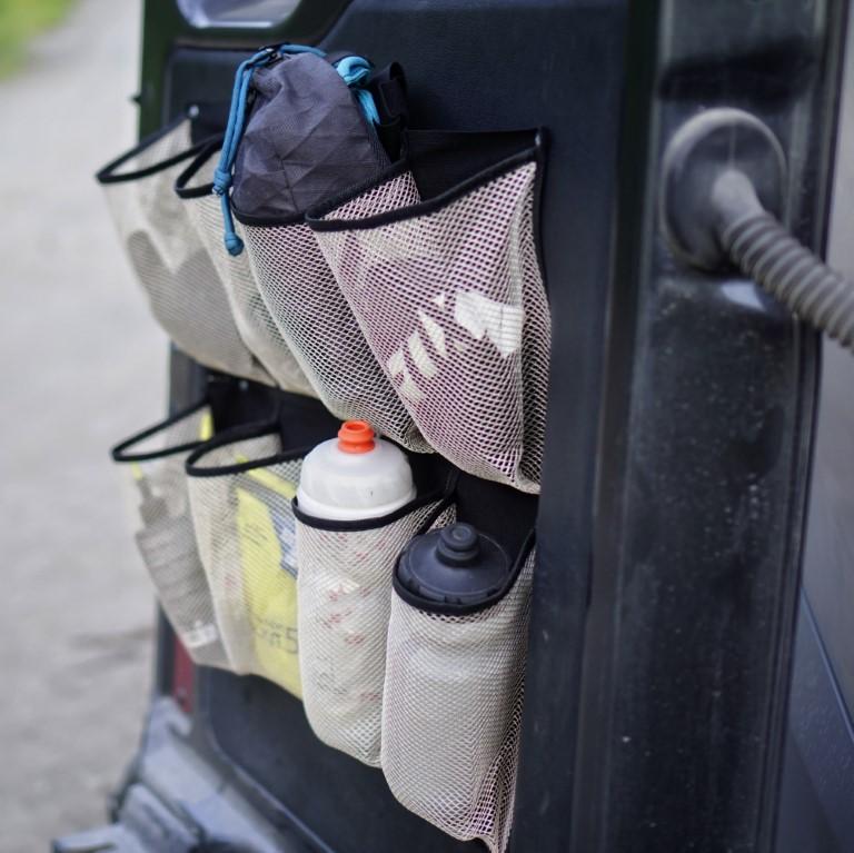 Shoe Organizer Rear Doors Van (2)