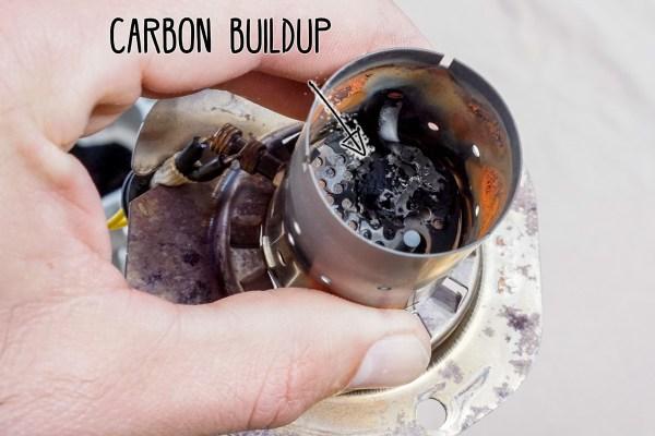 Webasto Combustion Chamber Carbon Buildup