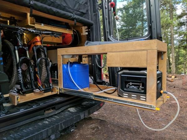 Exterior Shower Campervan Conversion (9)