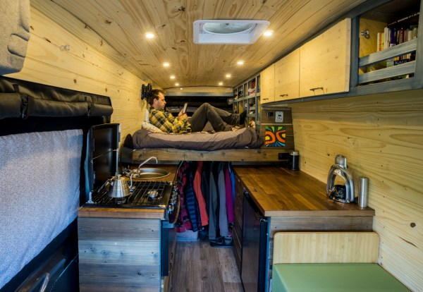 Campervan Conversion Raised Bed