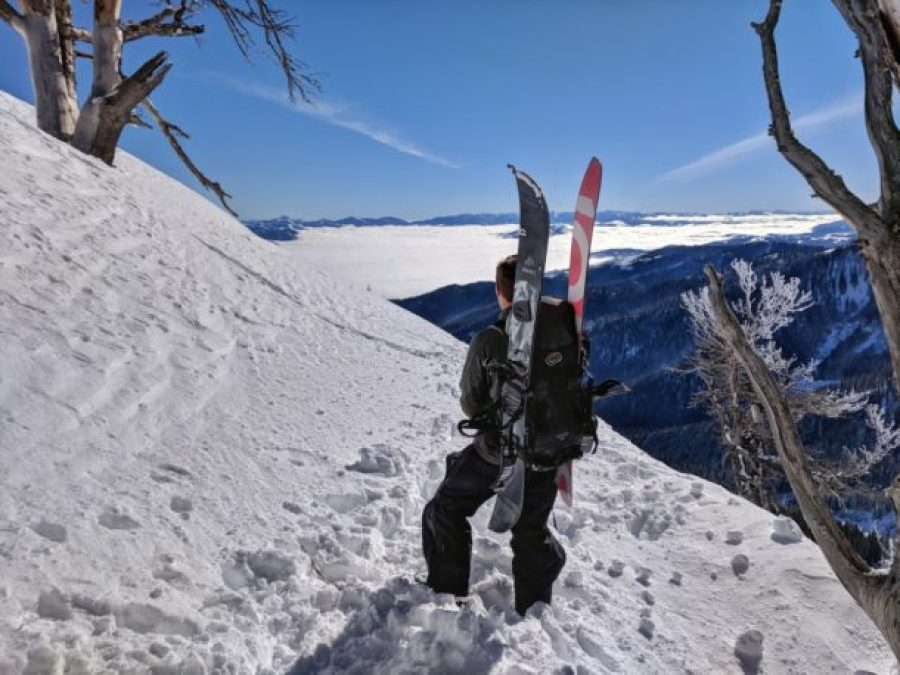 Mount Glory Teton Pass