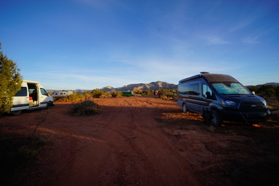 Sedona Free Dispersed Campground
