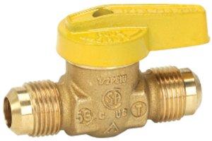 Brass Gas Valve Flare