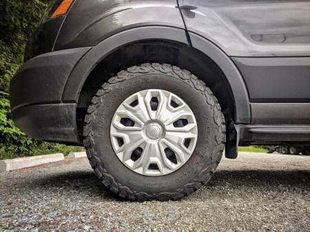 WeatherTech Mud Flap Ford Transit Front
