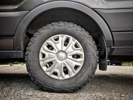 WeatherTech Mud Flap Ford Transit Rear