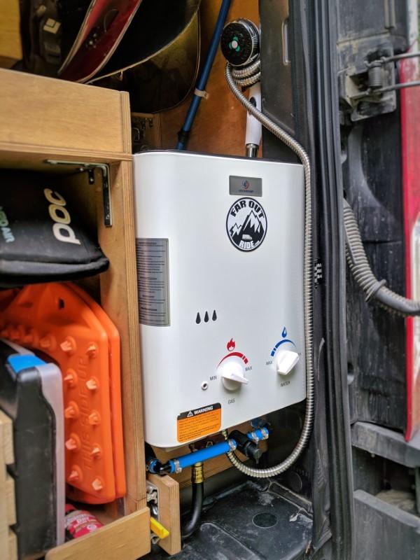 Eccotemp L5 Camper Van Conversion Hot Shower