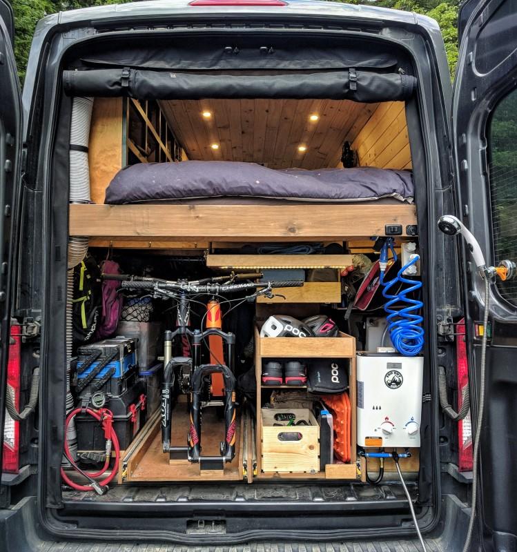 Eccotemp Shower Camper Van Conversion