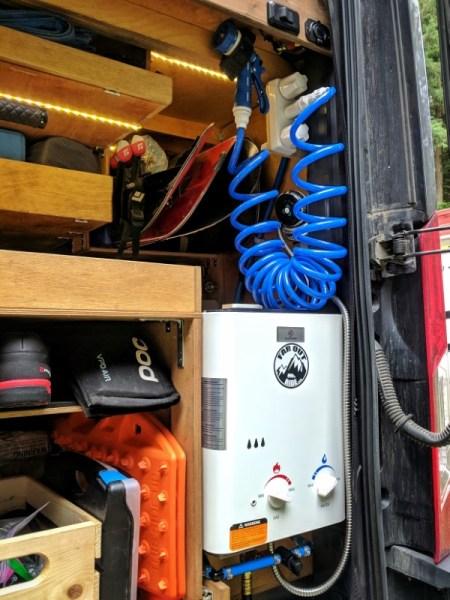 Spray Nozzle Bike Wash Camper Van Conversion