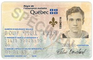 Assurance voyage médicale québécois à l'étranger, carte d'assurance maladie