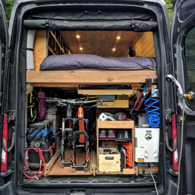 FarOutRide Garage Van Conversion
