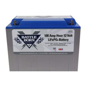 Battle Born Batteries Lithium LiFePO4 100Ah 12V