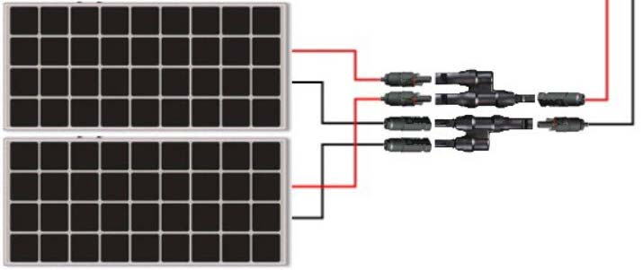 Solar-Panels-Parallel-Connection