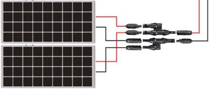 Solar-Panels-Parallel-Connection