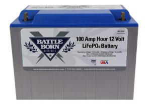 Battle Born Battery 100Ah 12V LiFePO4 Lithium Amazon
