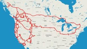 2 Years Vanlife Road Map