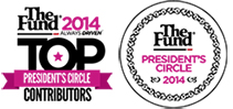 The Fund 2014 President's Circle and Top Contributor