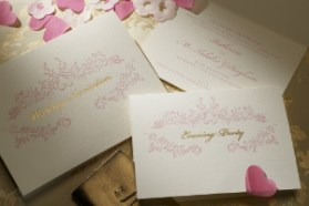 Luxuery Wedding Invitations Rococo 300 x 200