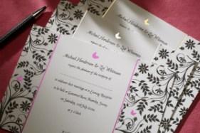 Luxury Wedding Invitations Butterfly 300 x 200