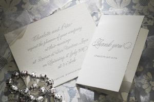 Luxury Wedding Invitations Calligraphy 300 x 200