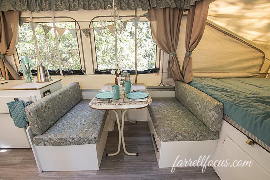 pop up tent trailer remodel