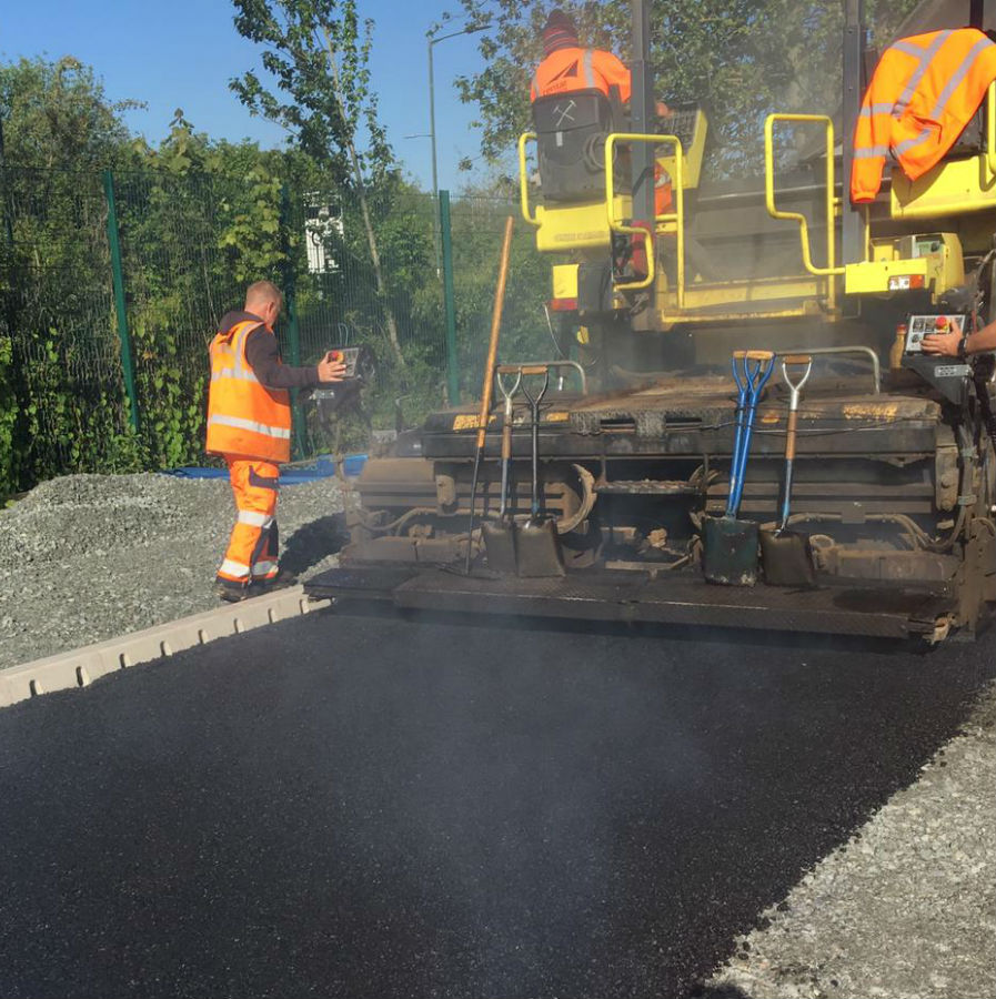 stanmore car park resurfacing