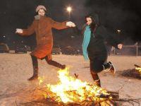 جشن با شکوه چهارشنبه سوری در استکهلم