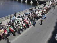 گزارشهائی از سلسله تظاهرات در اروپا و امریکا در دفاع از مجاهدین لیبرتی