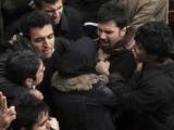 درگیری دانشجویان با ماموران سرکوبگر حراست در دانشگاه ارومیه
