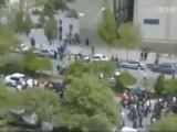 ویدیو – تظاهرات دانشجویان تبریز به انتخابات نمایشی رژیم