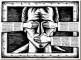 استبداد مذهبی حاکم بر ایران، بزرگترین دشمن آزادی مطبوعات