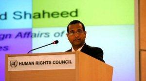 احمد شهید گزارشگر ویژه