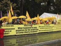 گزارش اختصاصی تصویری هجدهمین روز اعتصاب غذا در ژنو