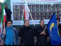 پانزدهیمن اکسیون اعتراضی در یوتبوری پس از قتل عام اشرف