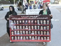 ششمین روز تظاهرات در استکهلم و یوتبوری در پی قتل عام اشرف