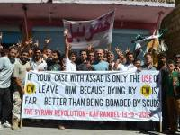 پیام مردم سوریه، به غرب و باراک